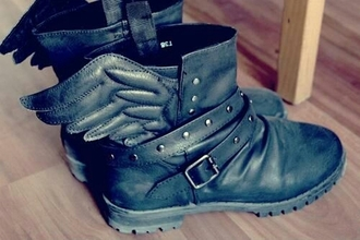 shoes black boots women shoes leather
