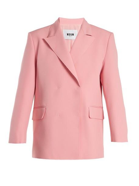MSGM jacket pink