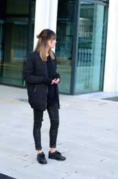 lovely by lucy,blogger,pants,winter jacket,down jacket,sneakers