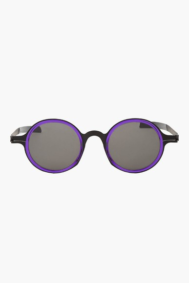 sunglasses rayban purple dd02 mykita edition round menswear