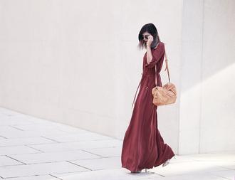 bekleidet blogger dress bag shoes sunglasses