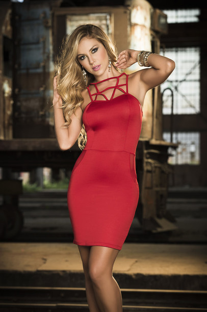 Short Red Sexy Dresses
