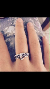 jewels,cute,jewelry,silver ring,rings silver,heart,silver,silver jewelry,pandora