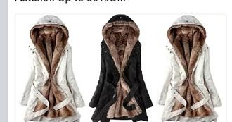 black white jacket coat fourrure faux fur