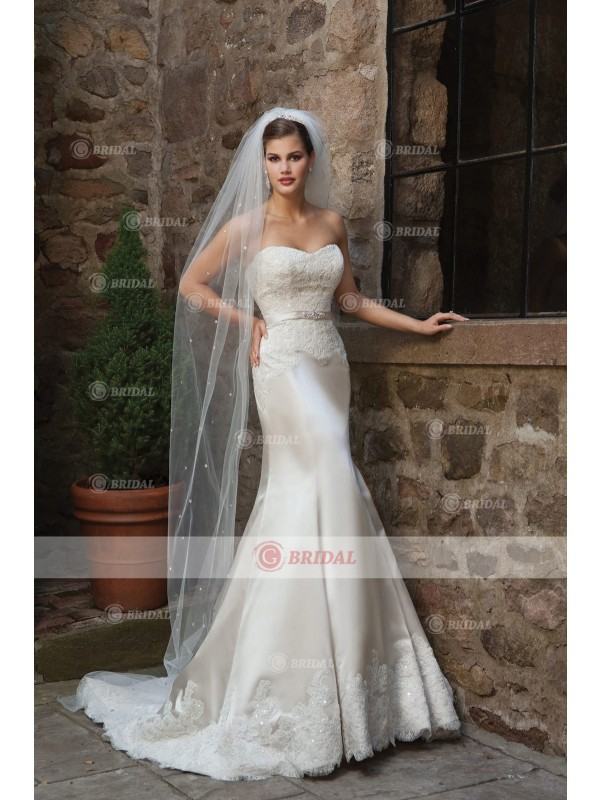 2015 new arrival church wedding dresses