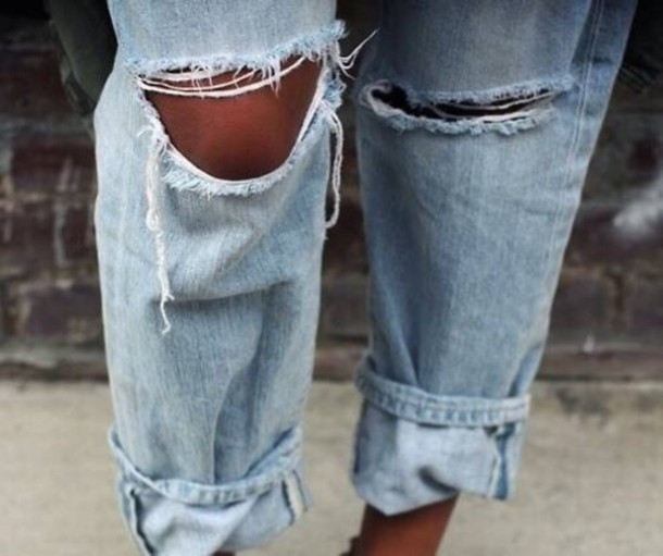 jeans ripped shorts boyfriend jeans ripped jeans