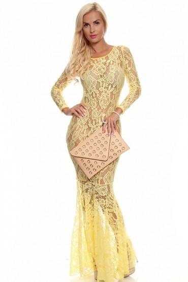 lethalbeauty ? Lace maxi dress