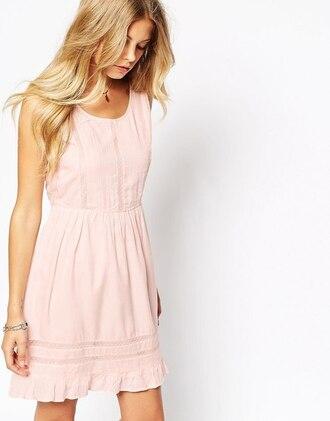 dress kawaii cool pink dress pastel nice cute