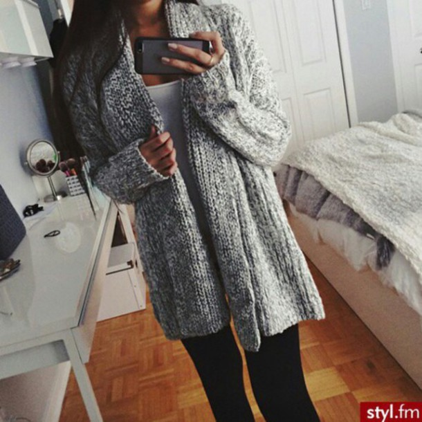 cardigan grey grey cardigan long long cardigan