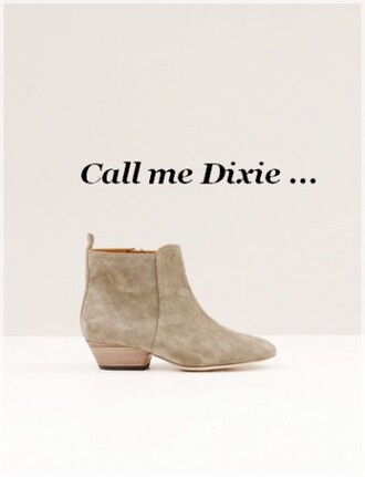 shoes boots isabel marant dixie dickers