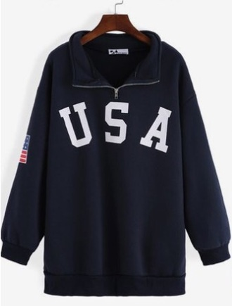 jacket usa blue hoodie american flag zip sweatshirt where do i find these where did u get that sweater shirt