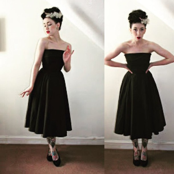 Dress Style Icons Closet Black Dress Little Black Dress Little Black Dress Pin Up Pin Up