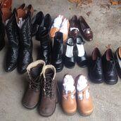 shoes,vintage,vintage boots,cowboy boots,vintage shoes,etsy,manor