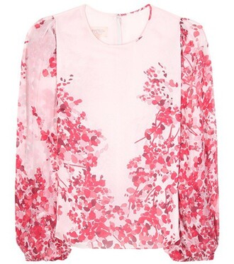 top silk pink