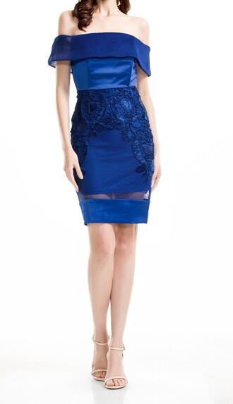 dress navy dress blue dress off the shoulder off the shoulder dress