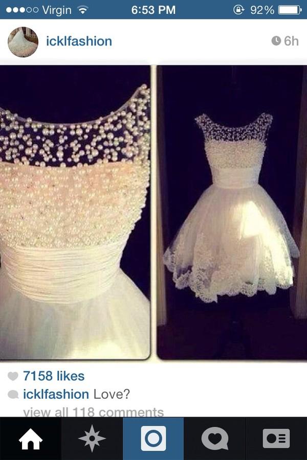 dress pearls dress