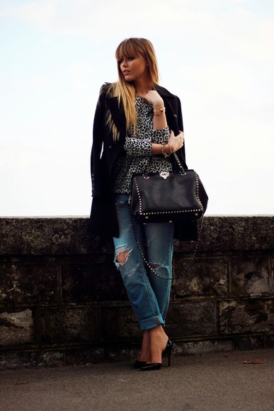 kayture t-shirt shoes bag jewels coat jeans
