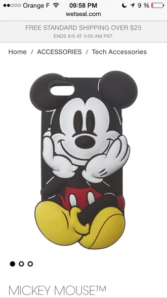 phone cover mickey mouse iphone case