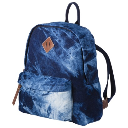 Mossimo supply co. acid wash denim backpack