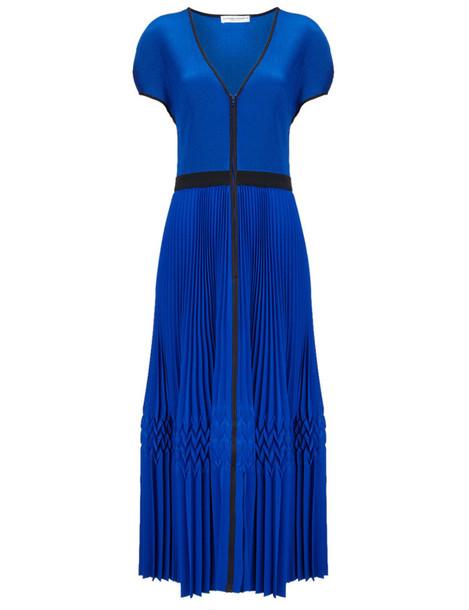 BARBARA CASASOLA dress blue