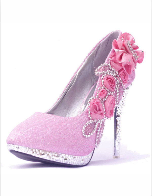 shoes pink high heels glitter shoes pink high heels gorgeous stilettos platform shoes