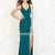 Sexy V-neck with back highlight with slit Prom Dress PD11817 Sale Online
