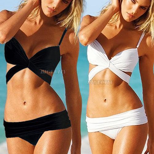 Vente chaude! Nouvelle mode des femmes plage sexy maillots de bain tankini d'usure, poussez jusqu'à maillots