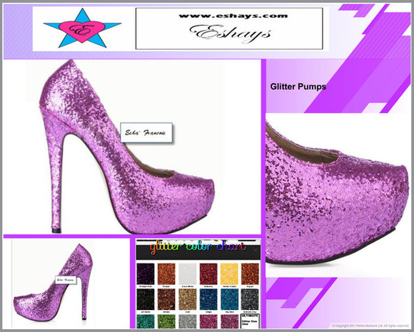 prom shoes wedding shoes www.eshays.com glitter purple purple shoes glitter purple pumps birthday shoes