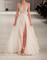 White round neck tulle long prom dresses, evening dress,dress for prom