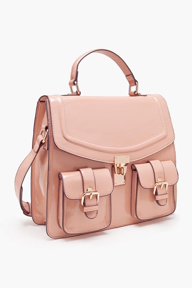 Nasty gal pink dora satchel