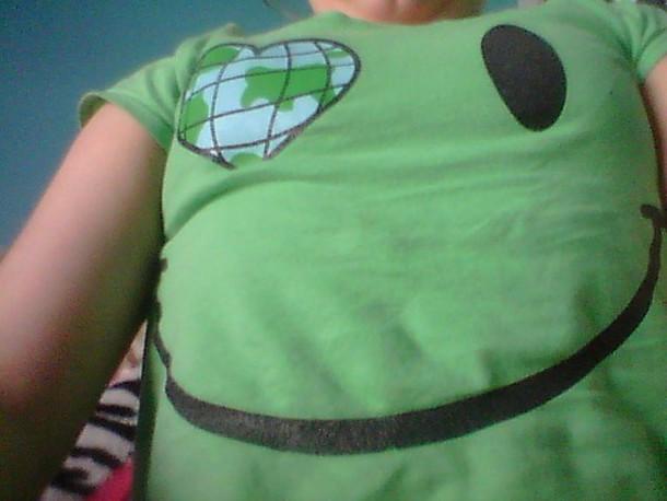 t-shirt green t-shirt