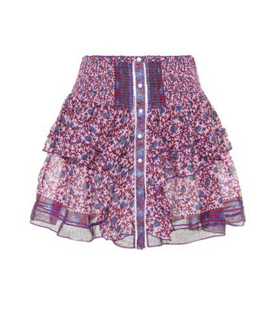 Poupette St Barth skirt cotton pink