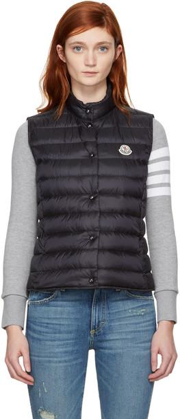 moncler vest black jacket