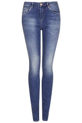 MOTO Blue Baxter Jeans - Topshop