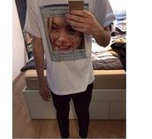 white,white shirt,tshirt.,graphic tee,instagram,lindsay lohan,lohan,fashion,guys,girl,unisex,computer,custom,pale grunge,pale,grunge,teen style,tags for help,cute,cotton,shirt