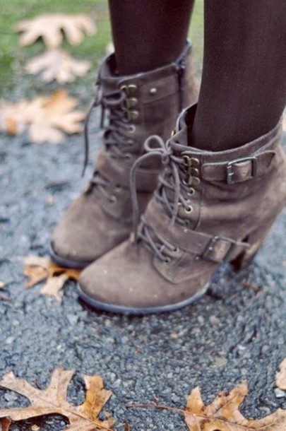 shoes booties with heals