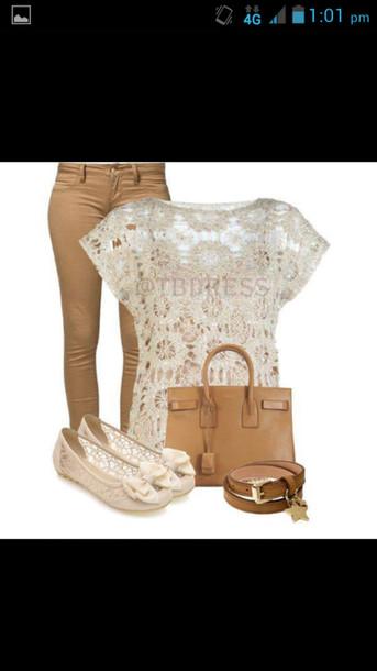 blouse jeans