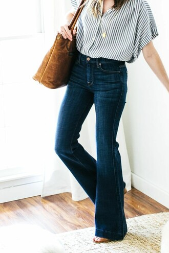 jeans high waisted flare jeans