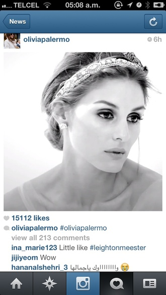 jewels olivia palermo diadem cry stas crystal elegant headpiece crystal headpiece elegant headband diamonds luxury brunette wedding hairstyles