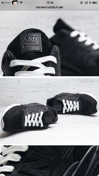 shoes new balance sneakers black leather