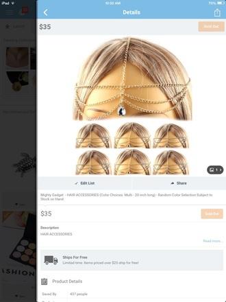 hair accessory dimounds gold headband black heels