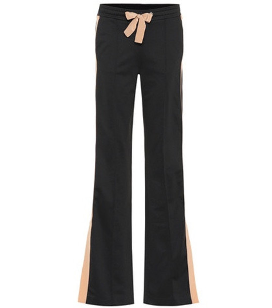 pants sporty couture black