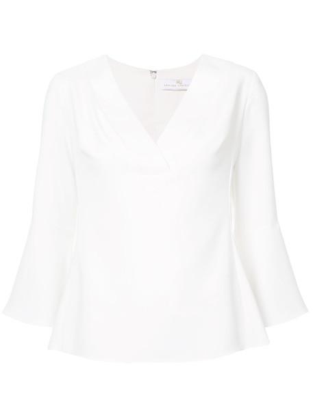 Amanda Uprichard blouse women white top