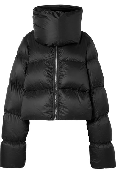 Rick Owens - Quilted shell down jacket