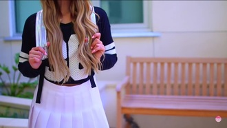 sweater youtuber style jersey fashion girly mamamiamakeup mylifeaseva stylish back to school