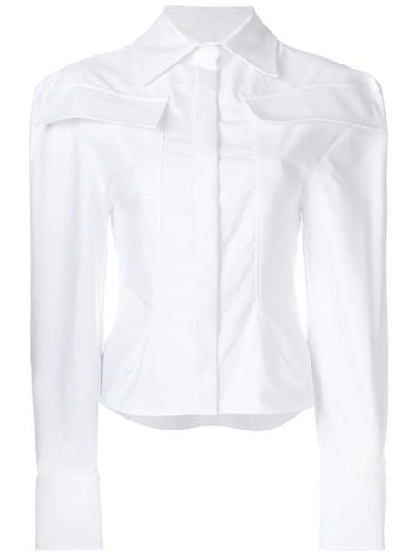 Jacquemus shirt women white cotton top