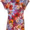Diesel - floral print t-shirt - women - rayon - s, rayon
