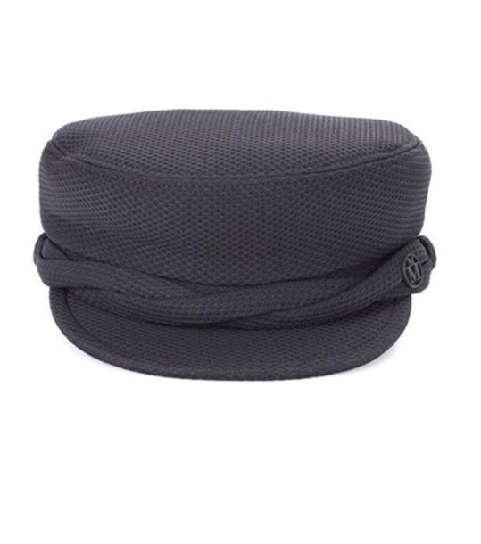 Maison Michel new hat cotton black