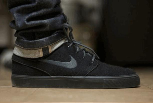 8feb763d7e7b shoes nike black skateboard womens shoes mens shoes