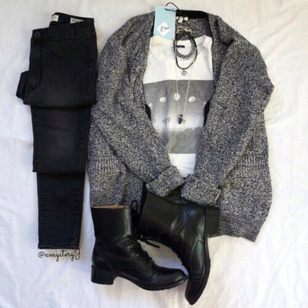 shirt cardigan t-shirt jeans jewels shoes grey white moon moon shirt moon phases